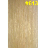 Goedkope flat-tip extensions #613 Lichtste blond