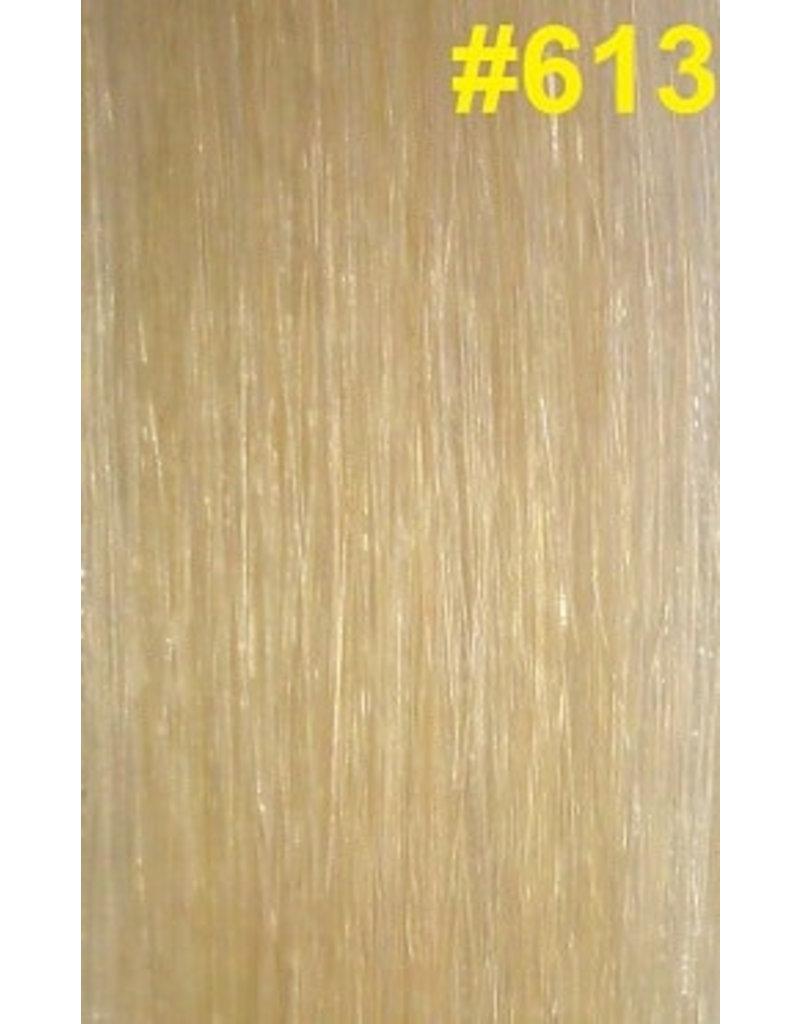 Goedkope flat-tip extensions #613 Lichtste blond