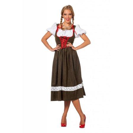 Dirndl jurk lang