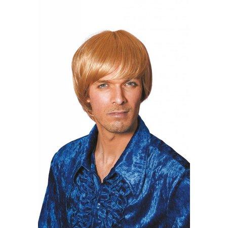 Herenpruik Carlo blond