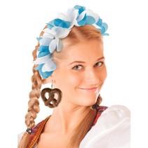 Pretzel oorbellen Oktoberfest
