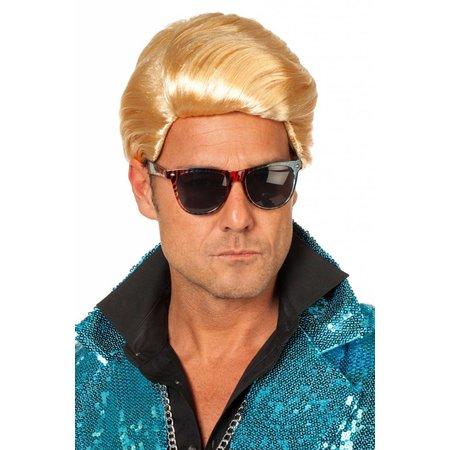 Pruik Gangnam blond