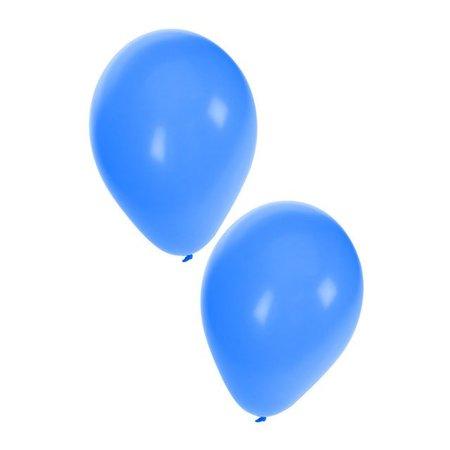 Ballonnen 50x blauw