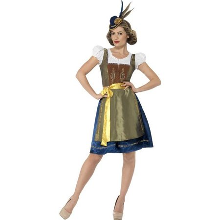 Traditionele deluxe kostuum Heidi
