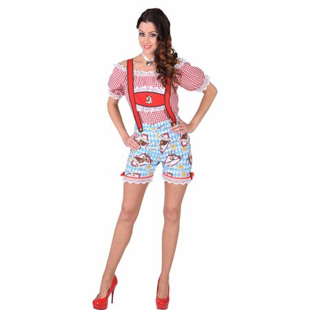 Hotpants lederhose dames