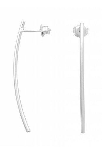 Oorbellen staaf - zilver - ARLIZI 0795 - Lily