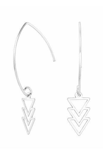 Ohrringe Dreieck Anhänger - 925 Silber - ARLIZI 0867 - Kendal