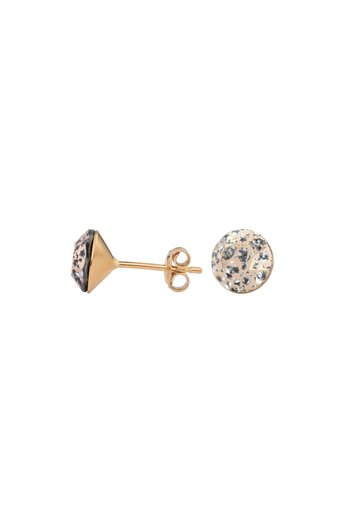 Earrings rose Swarovski crystal ear studs - rose gold plated silver - ARLIZI 1030 - Lucy