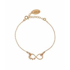 Armband infinity symbool - rosé - 1049