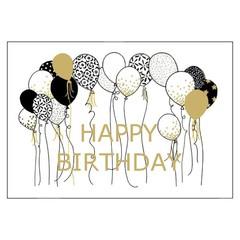 Wenskaart - verjaardag - happy birthday
