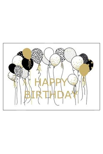 Wunschkarte - Geburtstag - happy birthday - ARLIZI 01