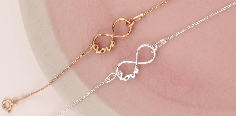 Infinity Schmuck - ein Symbol der ewigen Liebe
