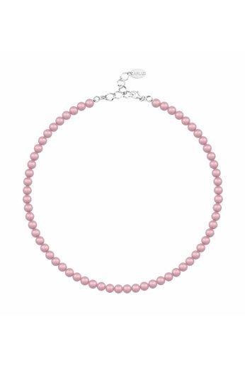 Perlenhalskette rosa - 925 Silber - ARLIZI 1196 - Noa - 6mm