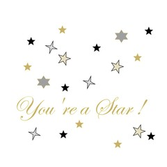 Greeting card - you're a star