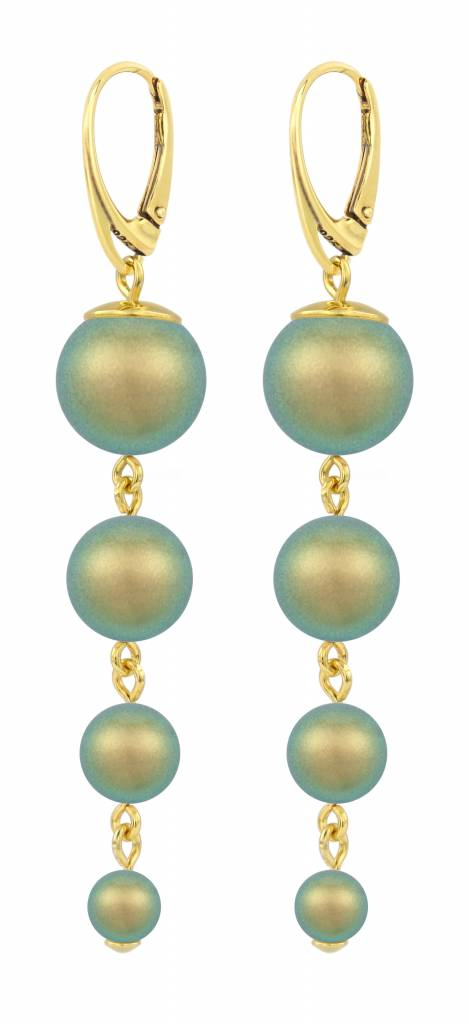 gold product bollywood jhumka jewellery designer green eonshoppee and sea pearl crystal earrings dangler