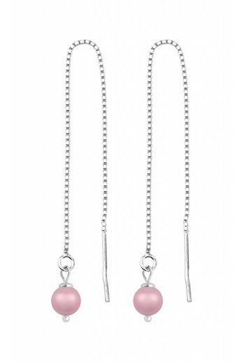 Earrings pink pearl - silver - ARLIZI 1509 - Emma