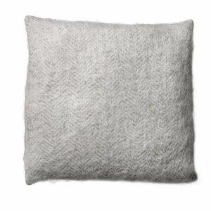 BLOOMINGVILLE HERRINGBONE PILLOW (incl. down cushion)