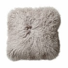 BLOOMINGVILLE MONGOLIAN LAMB PILLOW (incl. filling)