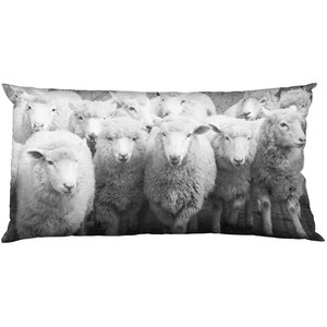 BLOOMINGVILLE SHEEP HERD PILLOW (incl. filling)