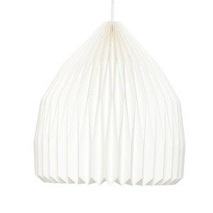 HUBSCH GEVOUWEN LAMP, CONISCH
