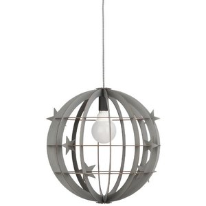 IT'S ABOUT ROMI SPHERE - PENDANT LAMP (grey, incl. stars and birds)