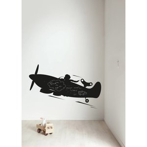 KEK AMSTERDAM AIRPLANE XL WALL STICKER