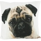 MARS & MORE PUG PILLOW (incl. filling)