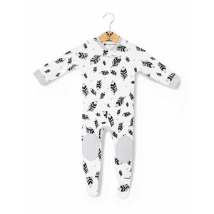 MOON MONSTERS ROMPER FEATHERS