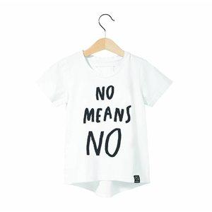 KUKUKID NO MEANS NO T-SHIRT