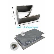 fliegengitter gewebe in schwarz oder grau fliegengitter fenster g nstig online kaufen bei gewebe. Black Bedroom Furniture Sets. Home Design Ideas