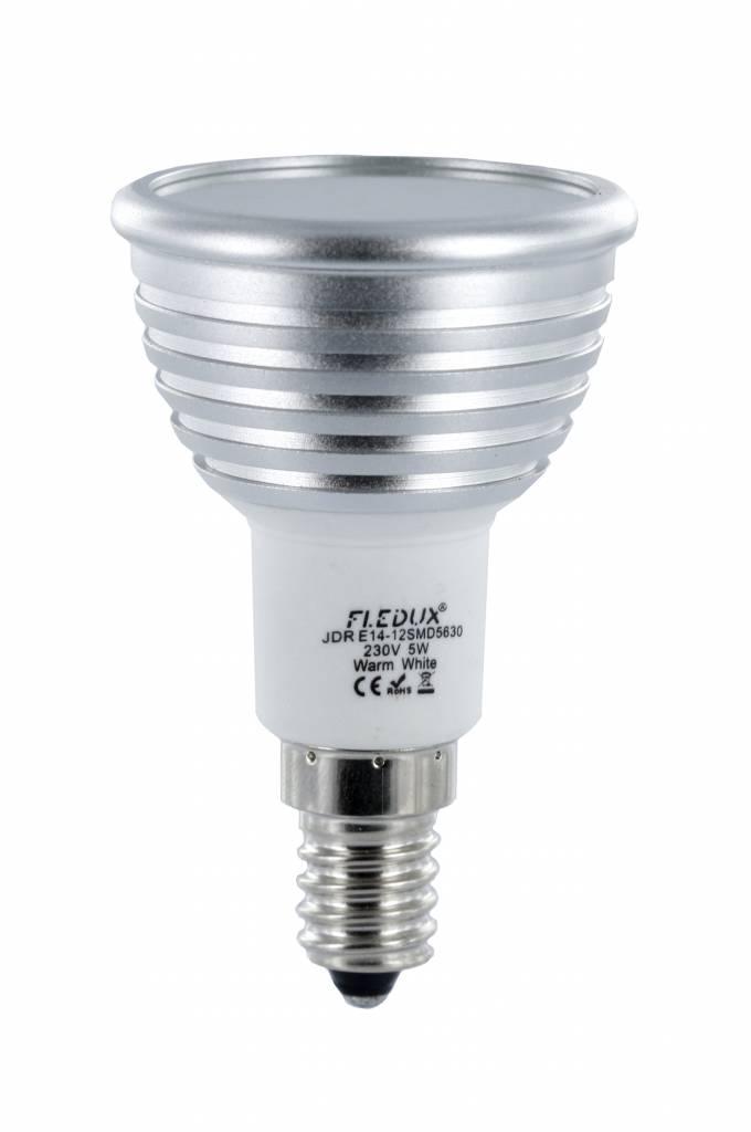 fledux e14 led spot 5 watt 350 lumen fledux led lampen led verlichting led spots. Black Bedroom Furniture Sets. Home Design Ideas