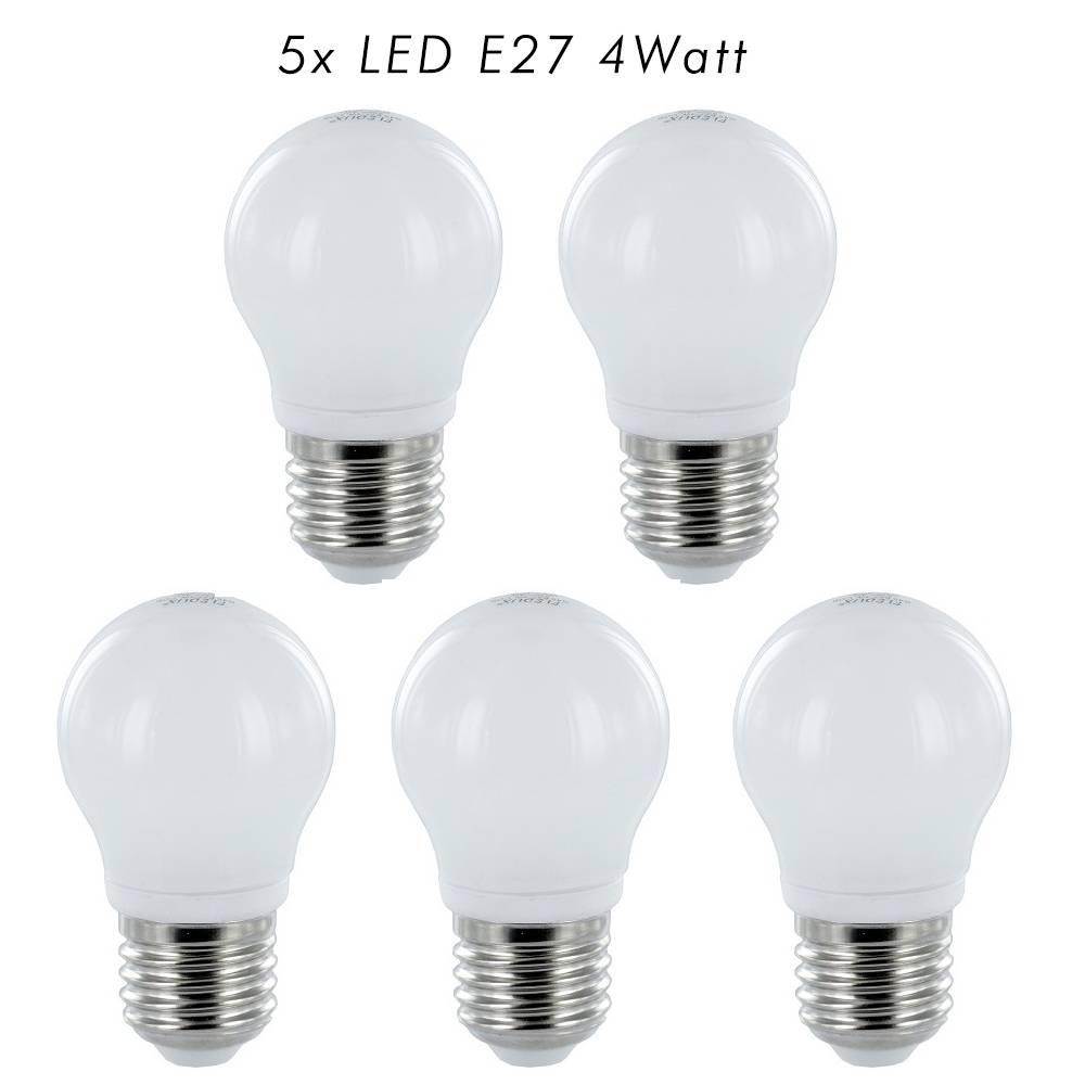fledux led lamp e27 4watt 350 lumen 5 stuks fledux led lampen led verlichting led spots. Black Bedroom Furniture Sets. Home Design Ideas