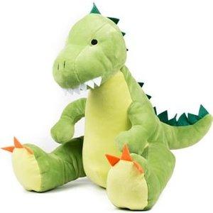 Zippie Dino met naam geborduurd