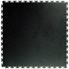 PVC Kliktegel - Hamerslag - Zwart-Recycled - 4,5mm
