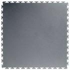 PVC Kliktegel - Hamerslag - Grijs-Recycled - 4,5mm