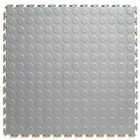 Flexi-Tile PVC Kliktegel - Noppen - Lichtgrijs - 4,5mm