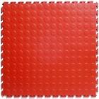 PVC Kliktegel - Noppen - Rood - 4,5mm