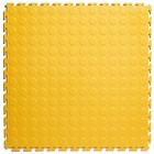 PVC Kliktegel - Noppen - Geel - 4,5mm