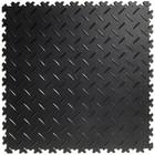 Flexi-Tile PVC Kliktegel - Diamant - Zwart-Recycled - 4mm