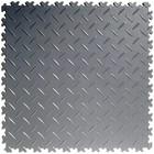 PVC Kliktegel - Diamant - Donkergrijs - 4mm