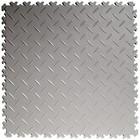 PVC Kliktegel - Diamant - Lichtgrijs - 4mm