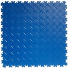 PVC Kliktegel - Diamant - Blauw - 4mm