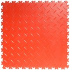 Flexi-Tile PVC Kliktegel - Diamant - Rood - 4mm