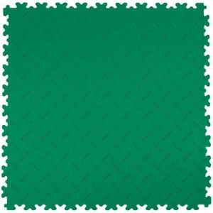 PVC kliktegel: diamant (tranenplaat) - kleur: groen