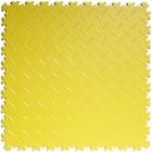 PVC kliktegel - Diamant - Geel - 4mm