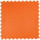 PVC Kliktegel - Diamant - Oranje