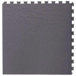 PVC kliktegel - motief: Leisteen - kleur: Donkergrijs - Dikte 5mm