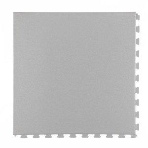 Flexi-Tile PVC kliktegel - motief: Hamerslag - kleur: Lichtgrijs