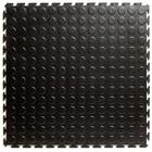 Flexi-Tile PVC Kliktegel - Noppen HD (industrieel) - Zwart-Recycled
