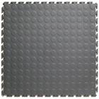 PVC Kliktegel - Noppen HD (industrieel) - Grijs-Recycled